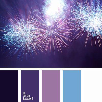 azul medianoche, azul muy oscuro y celeste, azul muy oscuro y violeta, azul oscuro y celeste, azul oscuro y violeta, azul turquí y azul oscuro, azul y azul oscuro, celeste y azul muy oscuro, celeste y azul oscuro, celeste y violeta, color azul navy, violeta pálido, violeta y azul fuerte, violeta y