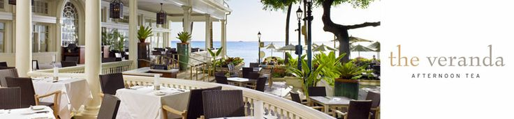 The Veranda at the Beach House, Moana Surfrider...A relaxing afternoon tea on the veranda at the beachhouse is a delight under the canopy of the old banyan tree ...with the sound of ocean waves lapping  along the shores of Waikiki.
