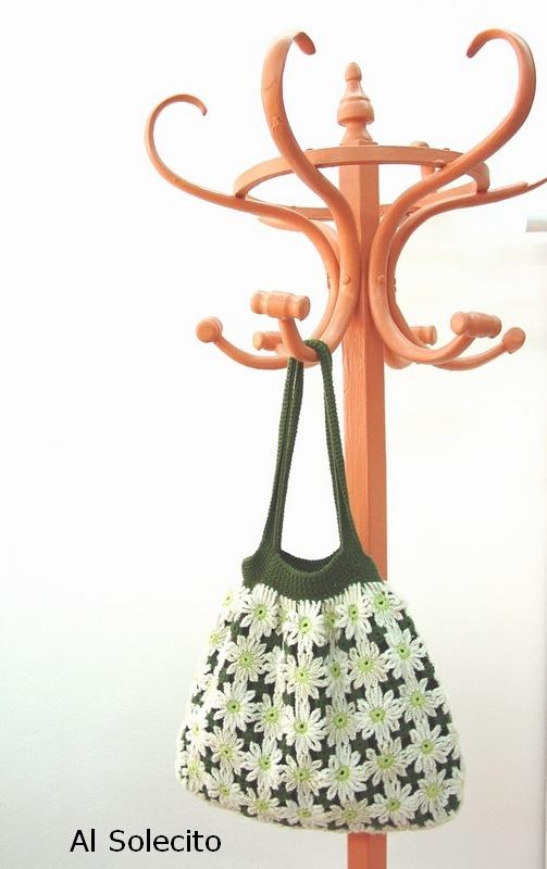 Bolso de ganchillo. Crochet bag.