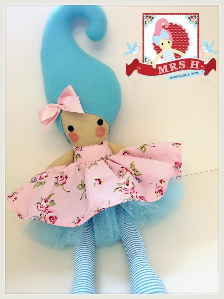 "23"" handmade doll with removable tutu and skirt CE marked and suitable for all agesHandwash only"