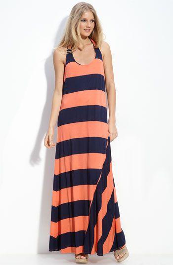 Splendid Rugby Stripe Maxi Dress | Nordstrom
