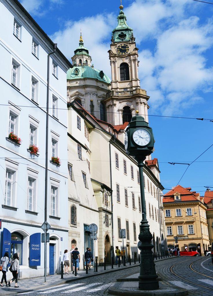 St. Nicholas Church - Lesser Town Square #Prague