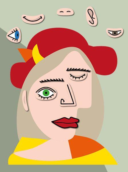Réaliser un portrait à la manière de Picasso