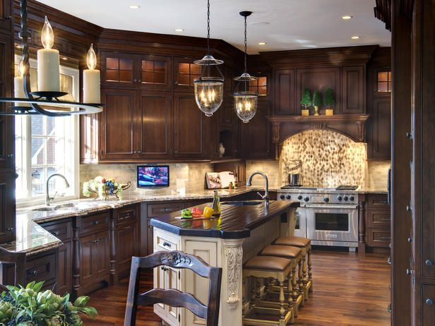 kitchenCherries Cabinets, Decor, Ideas, Cabinets Colors, Dreams Kitchens, Contemporary Kitchens, Traditional Kitchens, Home Renovation, Dark Cabinets