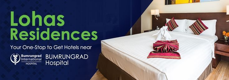 If you are in need of a hotel that is in close proximity to Bumrungrad Hospital for your scheduled medical treatment or in case of a medical emergency during your stay in Bangkok, then Lohas Residences is your number one choice.