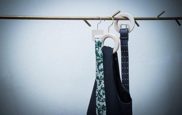 The #art of #hanging #accessories #TSuMisura #hangers