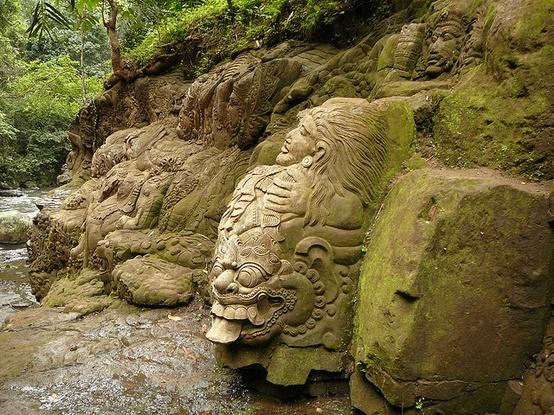 Ayung River, Ubud Bali - Indonesia