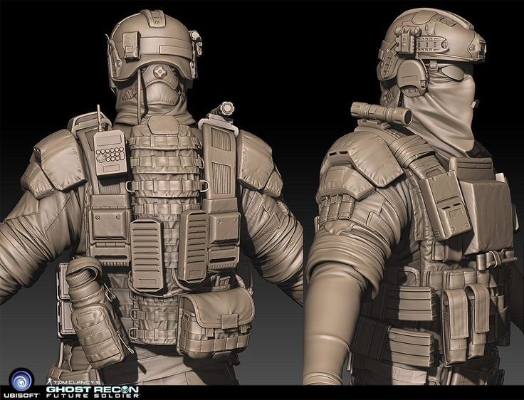 Soldier - ZBrush