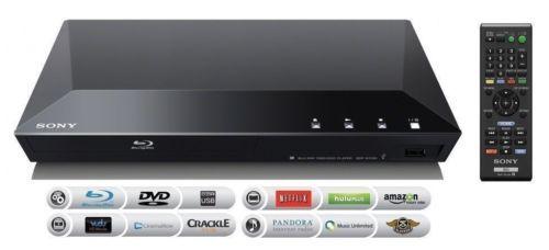 Sony BDP-S1100 Smart 1080P Blu Ray & DVD Player Netflix Internet Apps BDPS1100