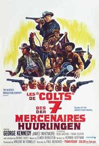 Magnificent Seven Cast | Guns of the Magnificent Seven - 27 x 40 Movie Poster - Belgian Style A