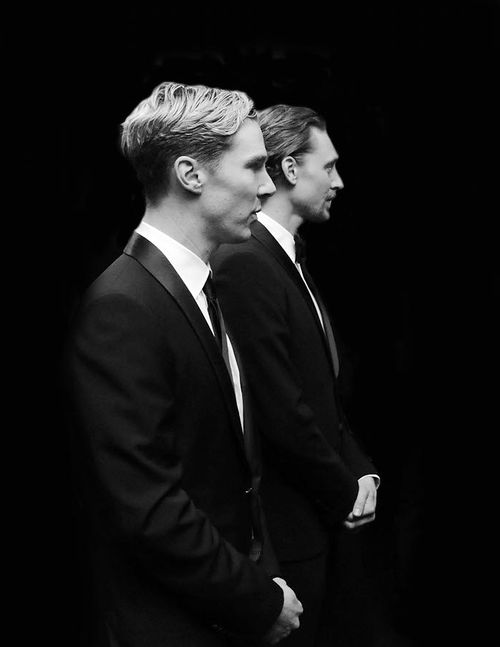 Seriously? I could eat cereal out of the hollows under their cheekbones. Gah. Angel faces.