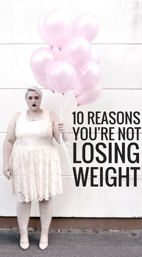 10 really bad habits preventing you from losing weight.
