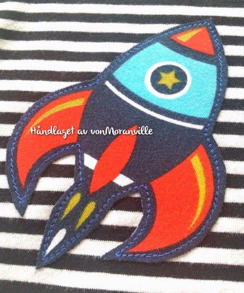 von Moranville: Striper og raketter til de store gutta! Tøff applikasjon / Cool application