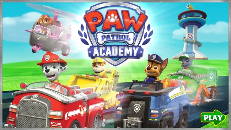 Paw Patrol Games - Paw Patrol Academy - Episode 1 (Chase's Police Pup Ch...