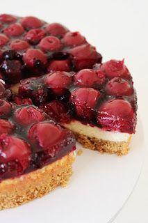 Zoet & Verleidelijk: Kersen-cheesecake