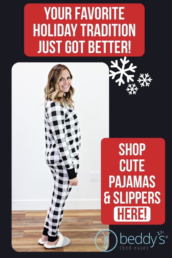 ba29cbc83891 Do you get matching pajamas for Christmas  You will love these checked  Beddy s pajamas. They are cozy