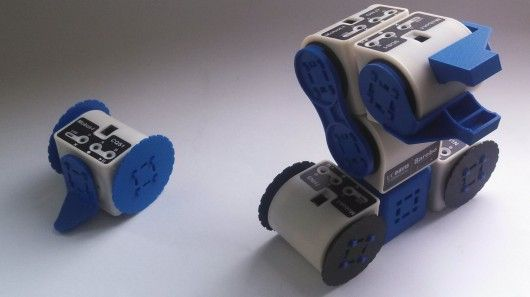 Linkbot modular robot platform grows with your knowledge