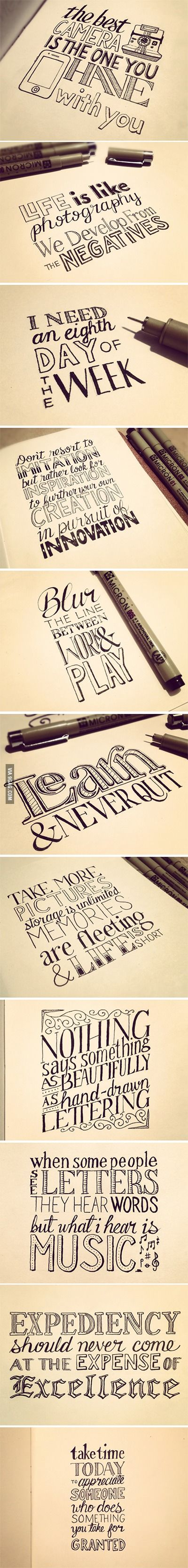 1000 Ideas About Tattoo Lettering Styles On Pinterest: cool caligraphy fonts