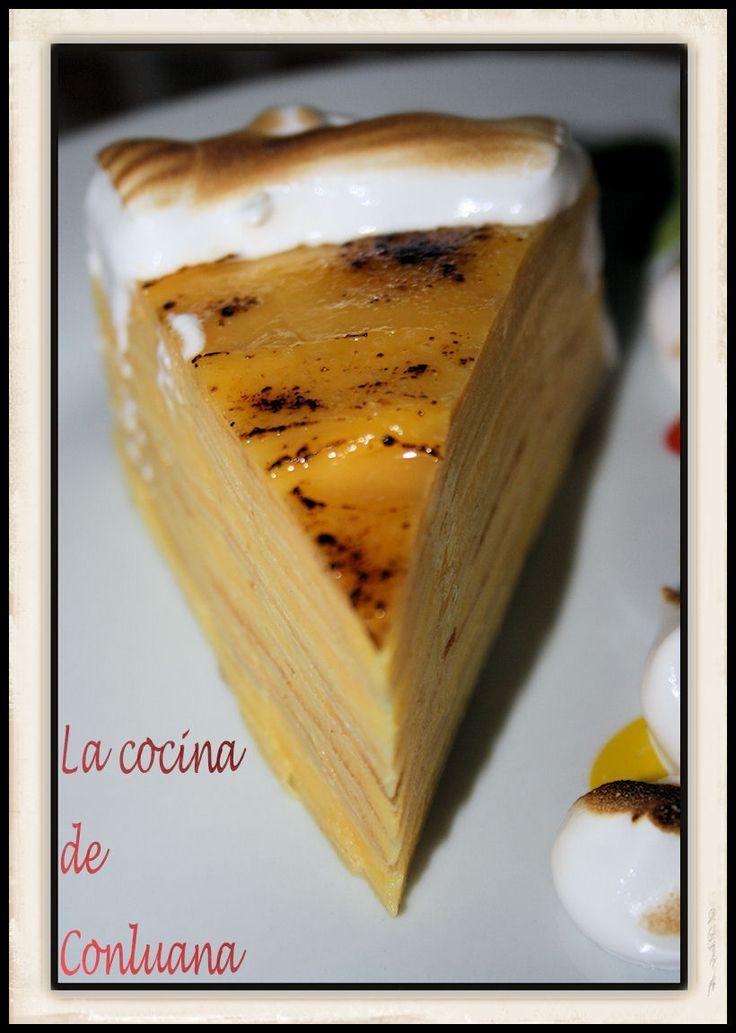 Esta tarta se la ví a mi amiga Loli (dololava) en el foro de fussioncook, ella prepara unas tartas buenísimas, esta no es la primera que le ...