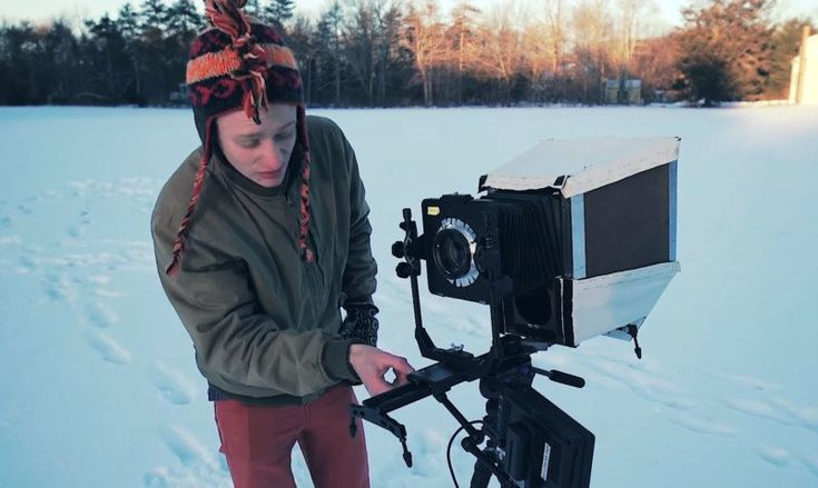 This Guy Made an 8x10 Large Format Video Camera