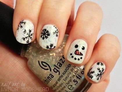 christmas nails - Buscar con Google