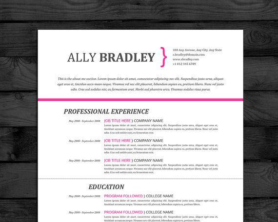 Resume Template Professional CV Template