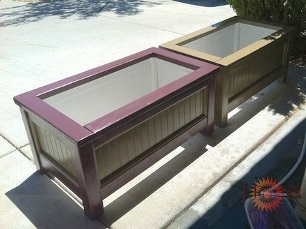 Planter boxes | Woodworking | Pinterest