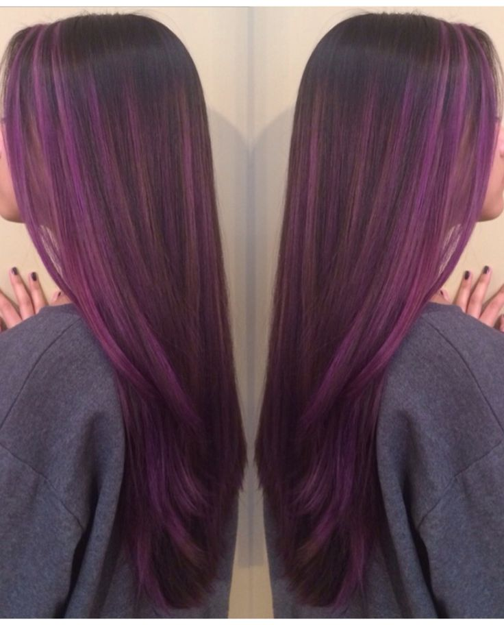 my purple hair || violet color melt. IN LOVE!!!