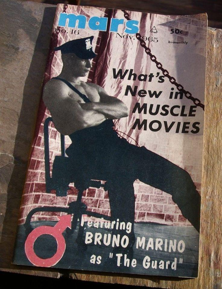 vtg 1965 MARS MAGAZINE body building posing gay interest MUSCLE MOVIES jockstrap   eBay