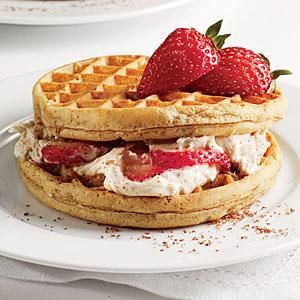 how to make waffles ahead of time
