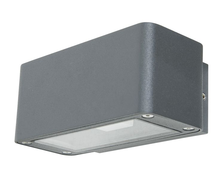 LEDlux Banff Up/Down Exterior Wall Bracket in Charcoal | LED Outdoor Lighting | Outdoor Lighting | Lighting
