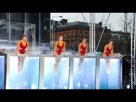 Me thinks that this is cabin 3 elibible.....Synchronised swimmers Aquabatique - Britain's Got Talent 2012 audition - UK version - YouTube