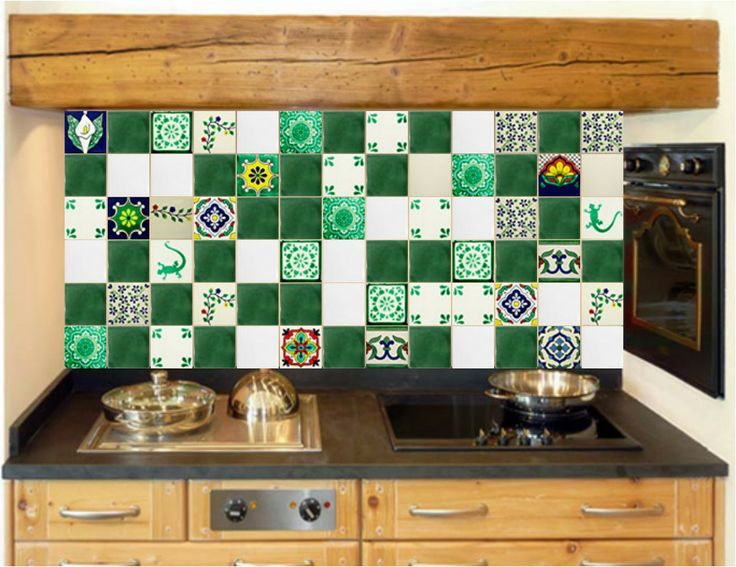 22 besten Bunte Mexikanische Fliesen für die Küche Bilder auf - fliesen f r k chenspiegel