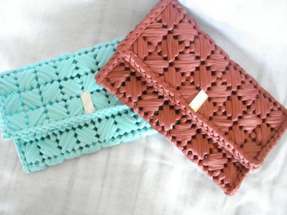 Envelope clutch purse Clutch bag Bridesmaid clutch by Poppyg