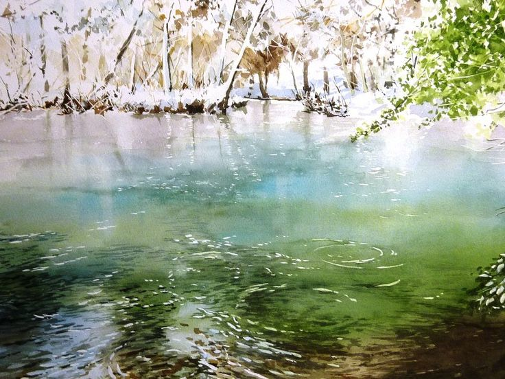Abe Toshiyuki Watercolor on paper