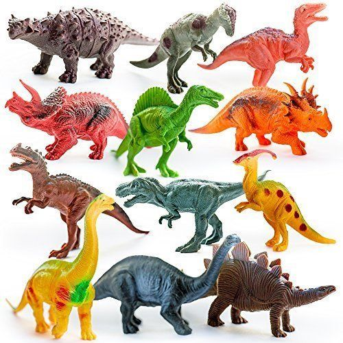 Dinosaurs Action Figure Set Of 12 Toys Large Dinosaur Toy For Kids Activity NEW #KidsImaginative