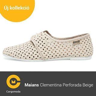 Maians Clementina Perforada Beige - Megérkezett az új tavaszi-nyári Maians kollekció! www.cargomoda.hu #cargomoda #maians #madeinspain #handcrafted #springsummercollection #spring #summer #mik #instahun #ikozosseg #budapest #hungary #divat #fashion #shoes