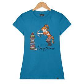 "Sagittarius among stars - series of T-shirts ""Polaris"""