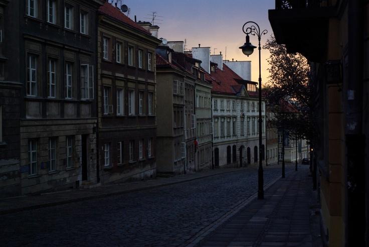 Nowe Miasto w Warszawie, ulica Mostowa. New City in Warsaw, Mostowa street.