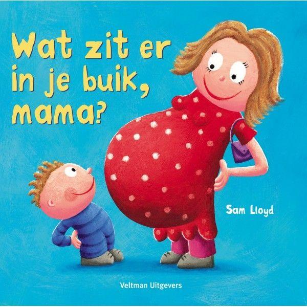 Thema baby: boek 'Wat zit er in je buik, mama?'