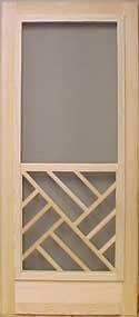 View All Wooden Screen Doors - chippendale screen door screendoors.com