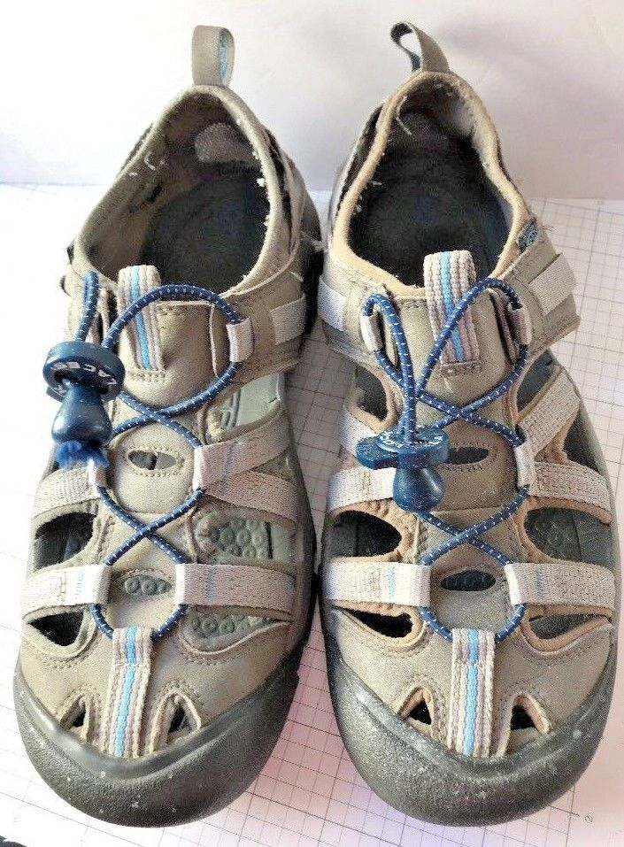 Keen Youth Shoe Sandal Youth Size 7 Blue Gray Length 9.75 inches  #KEEN #Sandals