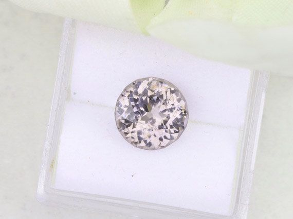 Round Spinel Loose Gemstone Portuguese Cut 8.6 MM for Jewelry