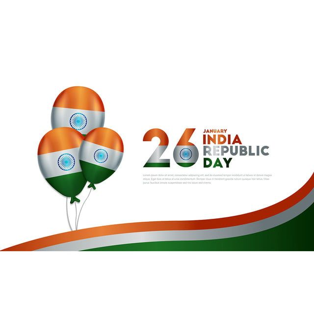 Background Indian Republic Day 26 January Republic Day India National Day Republic