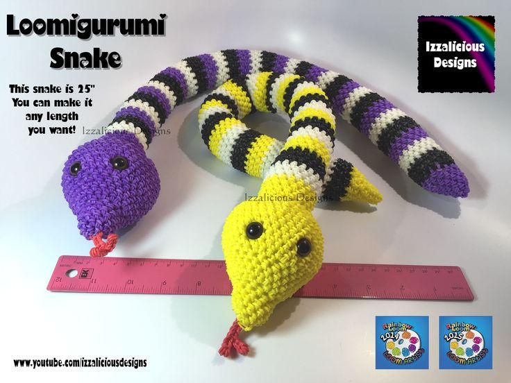Rainbow Loom Amigurumi Unicorn : 1000+ images about Rainbow Loom - 3D on Pinterest Loom ...