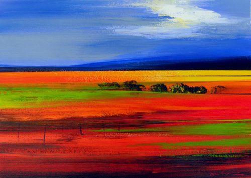 """""""Overberg autumn"""" artist Derek van Rensburg. http://www.imbizogallery.co.za/gallery.php?mid=5"""