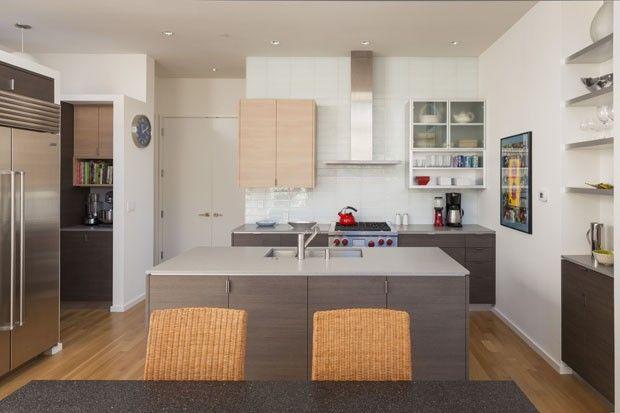 A cozinha de Rich e Janice Sands (Foto: Robert Reck/The New York Times)