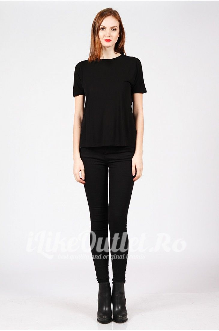 Tricou negru Basic COS