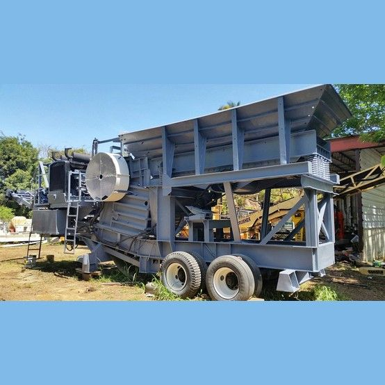 Size: 21 in. x 42 in.  Equipped with:  Detroit Diesel engine.  Model: 8V71.  300 hp.     Twin disc clutch. Jaw dies : 85% wear life. New steel liners for feed hopper. New hydraulic...