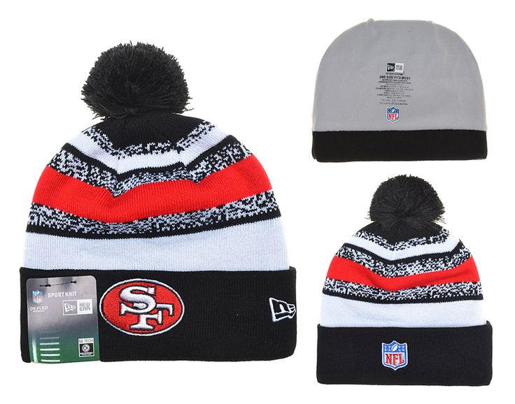 e38c8862 NFL San Francisco 49ers Beanies Knit Hat | Niners Gears | Knitted hats, Hats,  Beanie